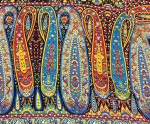 Aztec Print Overlay