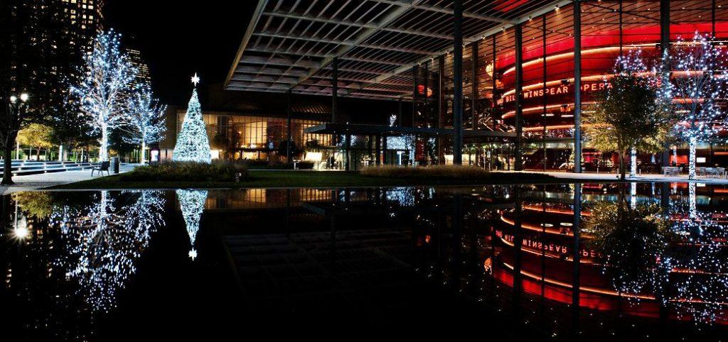 ATT Performing Arts Center Tree Lighting