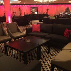 Holiday Lounge Decor