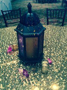 Moroccan Lantern Centerpiece