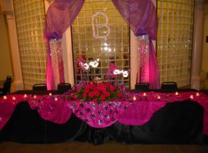 Masquerade Head Table