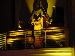 Egyptian theme decor