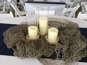 Nautical theme centerpiece