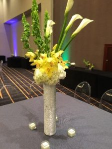 Metallic Centerpiece