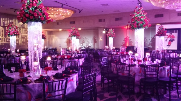 Hockey theme bar mitzvah magic moments parties and events