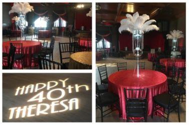 1920s theme party decor
