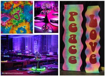 70s theme multicolor