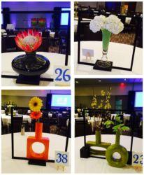 Art theme multicolor design for corporate event