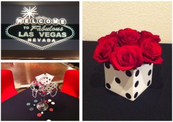 Casino theme for prom or corporate event