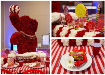 Circus theme for birthday or corporate event