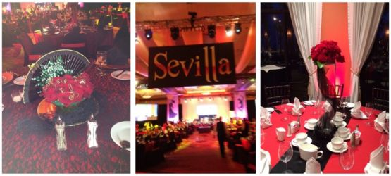 International theme spain red and black for corporate or social